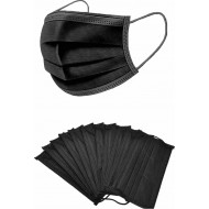 Surgical disposal mask - Black